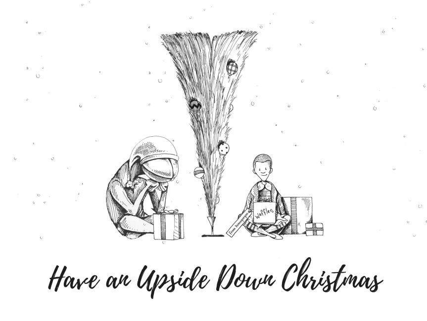 Turn Christmas Upside Down with Wayfair