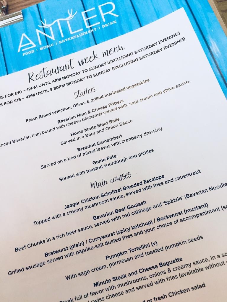 Antler-Alpine-Bar-Newcastle-Restaurant-Week-menu